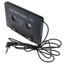 LanLan Universal Car Audio Cassette Adapter, Black
