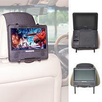 TFY Universal Car Headrest Mount Holder for Portable DVD