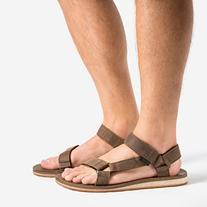 Teva Men's Original Universal Premium LTR Sandal, Dark Earth