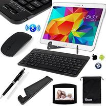 Universal Wireless Bluetooth Keyboard/Mouse,Mouse Pad
