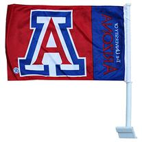 University of Arizona - NCAA Car Flag