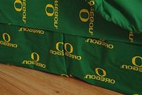Oregon Printed Dust Ruffle Full by College Covers