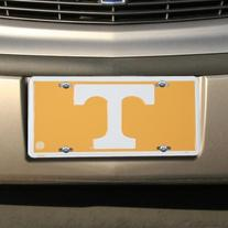 University of Tennessee T NCAA License Plate