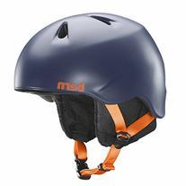 2015 Bern Boys Nino Zipmold  Helmet Satin Navy Blue w/ Black