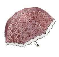 Aoosir UPF 50+ Fashion Lace Umbrella - Sun Protective,
