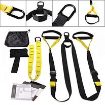 UPGRADED Suspension Trainer Straps Home Gym Workout