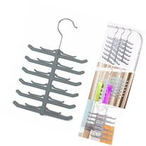 UR Bathroom Necktie Belt Tie Hanger Scarf Clothes Rack Non-