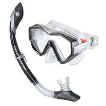 US Divers Adult Anacapa I Mask and Island Dry Snorkel Combo