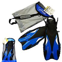 US Divers Borneo Dual Composite Vented Fin Blade Snorkeling
