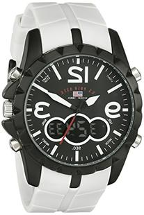 U.S. Polo Assn. Sport Men's US9250 White Analog Digital