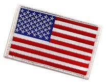 USA US American Flag Logo Embroidered Patch Sew on Iron On