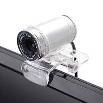 Cimkiz USB 2.0 HD Webcam,Web Cam with MIC Clip-on 360 Degree
