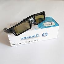 144Hz USB Charge Active Shutter 3D Glasses For Universal 3D