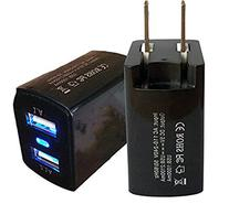 USB Charger Allytech 12W 2.4A Dual USB Wall Charger Travel