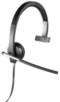 Logitech USB Headset Mono H650e , Corded Single-Ear Headset