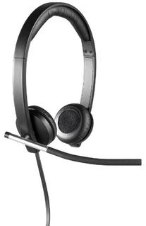 Logitech USB Headset Stereo H650e , Corded Double-Ear