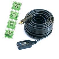 Plugable USB2-10M USB extension cable - USB  to USB  - USB 2