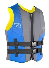 NP Surf USCG Neoprene Multi Sport Flotation Vest, Blue/Grey