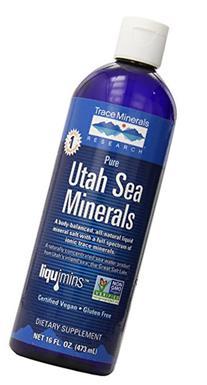 Trace Minerals Research Pure Utah Sea Minerals - 16 fl oz