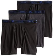 Hanes UTB1B3 Men Tagless Ultimate X-Temp Boxer Briefs With