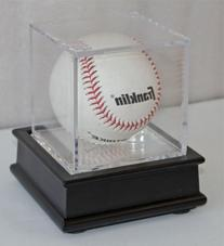 Ultra Clear UV Pro Baseball Holder Cube Display Case and