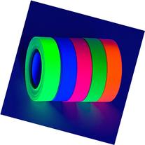 5-Pack SUPER BRIGHT UV Blacklight Reactive Fluorescent /