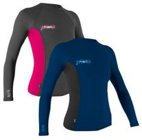 O'Neill Women's UV Sun Protection Long-Sleeve Rashguard