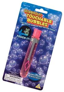 Toysmith UV Touchable Bubbles Toy