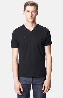 Men's Versace 'Medusa' V-Neck T-Shirt Black Small
