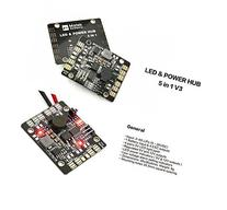 Usmile V3 5 in 1 PDB BEC 5V&12V LED Lighting Control Lost