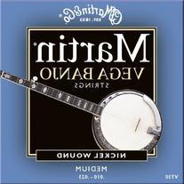 Martin V730 Medium Vega Banjo Strings