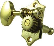 Grover V97-18G Sta-Tite Tuners, 18:1 Gear Ratio, 3-Per-Side