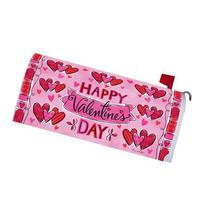 Valentine's Banner Magnetic Mailbox Cover Holiday Hearts