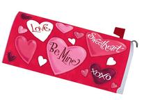 Valentine Hearts 1575MM Magnetic Mailbox Cover Wrap