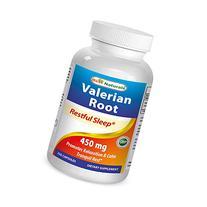 Best Naturals Valerian Root 450 mg 250 Capsules
