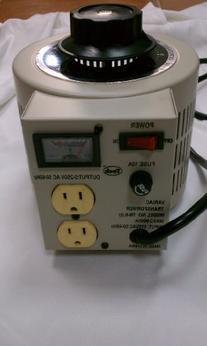 0-250VAC 250V Variac Output Transforme r 10 Amp  2