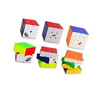 Vchanel Cyclone Boys Stickerless Colorful Speed Magic Cube
