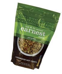 Earnest Eats Vegan Hot Cereal with Superfood Grains, Quinoa