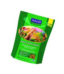 Halo Vegan Dry Dog Food, Garden Of Vegan Recipe, 4-Pound Bag