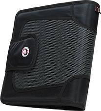 Case-it Open Tab Velcro Closure 2-Inch Binder with Tab File
