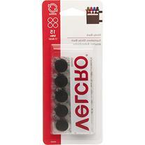 """VELCRO Brand - Sticky Back - 5/8"""" Coins, 15 Sets - Black"""