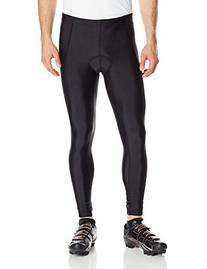 Canari Cyclewear Men's Veloce Pro Cycle Tights, Black,