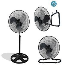 """Premium Large High Velocity Industrial Floor Fan 18"""" Floor"""