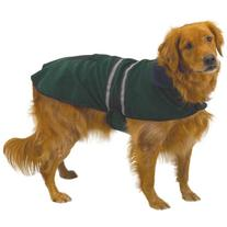"Casual Canine Reflective Jacket for Dogs, 16"" Medium, Hunter"