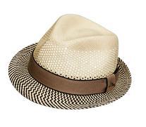 Tommy Bahama Vented Panama Fedora Hat L/XL - Natural