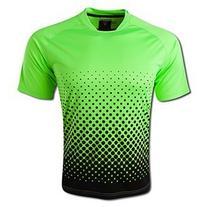 Vizari Ventura Short Sleeve Goalkeeper Jersey, Neon Green/