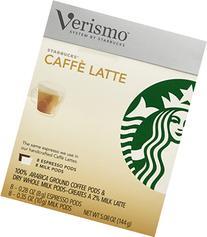 Starbucks Verismo Caffe Latte Pods, 16 Pods