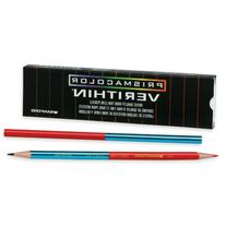 Verithin Colored Pencil, Red/Blue, 12 Count
