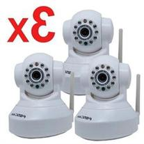 3 Pack Foscam New Version FI8918W Pan & Tilt Wireless IP