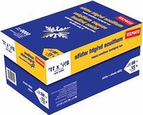 Staples Very Bright White Multipurpose Case Copy/Laser/Inkjet Printer Paper, 98 Brightness, Heavier 22 lb, Letter Size , 5000 Sheets Carton